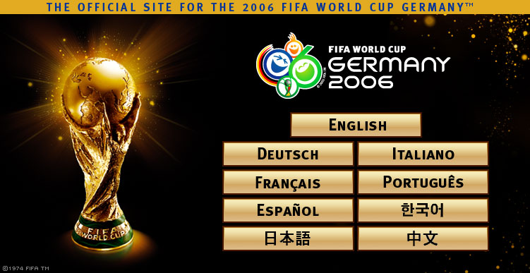 World Cup Photos. World Cup 2006 football stars