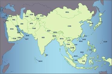 Zone Azie - Groep A