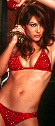 click for more pics of Elizabeth Hurley