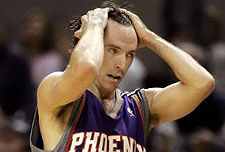 Steve Nash had three assists.
