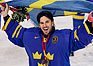 Sweden beats rival Finland for ice hockey gold.