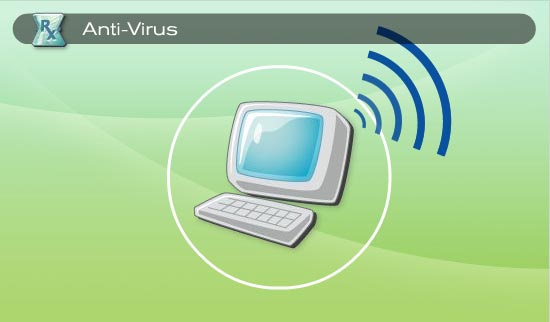 Anti-Virus also stays current with new virus threats as they emerge. 