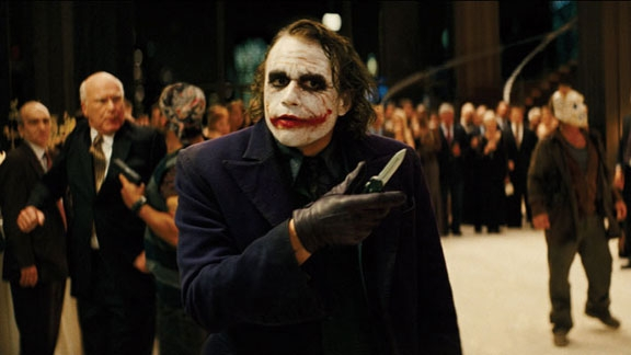 The Dark Knight - Joker clip @ Yahoo! Video