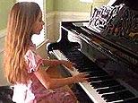 10-year-old Celia plays Chopin (Y! Video)