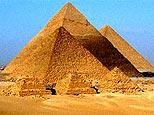The pyramids at Giza in Egypt.(AP)