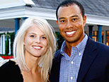 Tiger Woods with wife Elin (Getty Images)