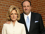 Edie Falco, James Gandolfini on HBO's 'The Sopranos' (Craig Blankenhorn)