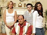 Edie Falco, James Gandolfini, Robert Iler, Jamie-Lynn Sigler on HBO's 'The Sopranos' (Craig Blankenhorn)