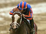Rags to Riches, ridden by Garrett Gomez (Matthew Stockman/Getty Images)