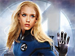 Jessica Alba in Fox's 'Fantastic Four: Rise of the Silver Surfer'