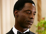 Isaiah Washington as Preston Burke in 'Grey's Anatomy' on ABC.