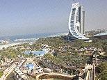 Hotel and theme park in Dubai. (AP)
