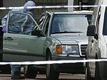 A Mercedes car which contained a suspected car bomb in central London. (AP)
