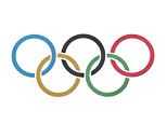Olympics logo (Clive Rose/Getty Images)
