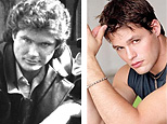 Actor David Hasselhoff (AP), Actor Justin Bruening (Y! TV)