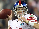 Quarterback Eli Manning #10 of the New York Giants (Elsa/Getty Images)