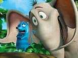 Morton (voiced by Seth Rogen) and Horton (voiced by Jim Carrey) in 20th Century Fox's 'Dr. Seuss' Horton Hears a Who'