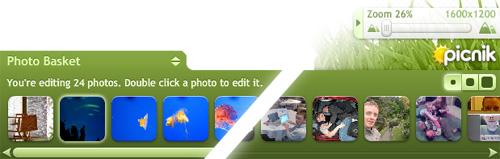 The New Picnik Photo Basket