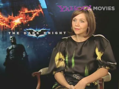 Maggie Gyllenhaal and Aaron Eckhart interview @ Yahoo! Video