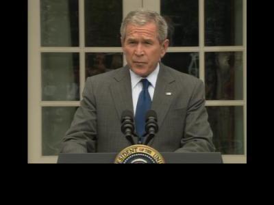 President Bush on FISA passage @ Yahoo! Video