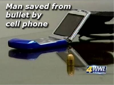 Cell phone stops bullet, saves St. Tammany man's life @ Yahoo! Video