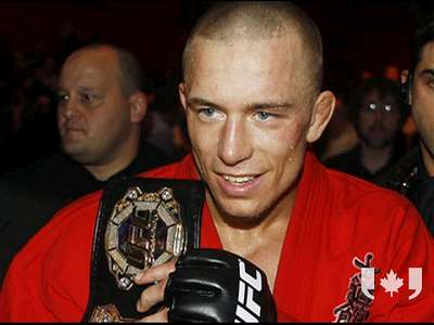 Georges St. Pierre GSP UFC MMA