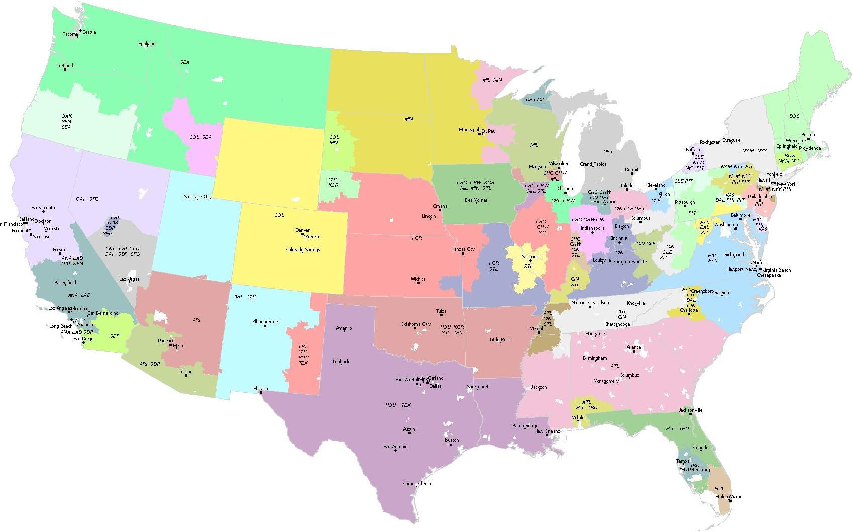 Us Map Territories