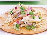Ranch-style fish tostada (Kraft)